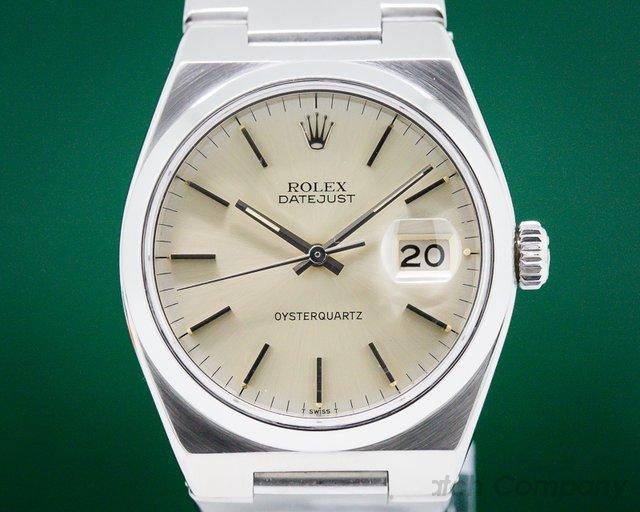 Rolex 17000 OysterQuartz Silver Dial / SS