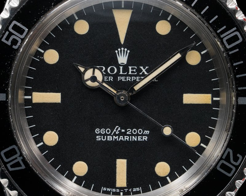 Rolex 5513 Vintage Submariner Beautiful Even Patina WOW
