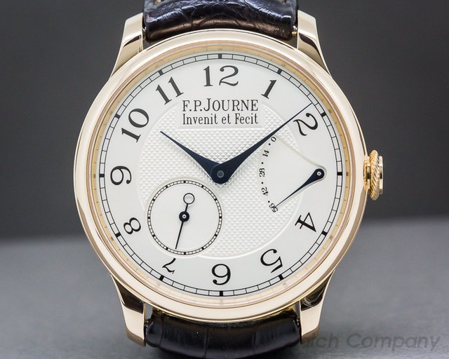 F. P. Journe  Chronometre Souverain Rose Gold 38MM