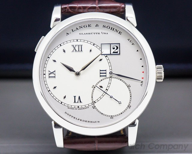 A. Lange and Sohne 115.025 Grand Lange 1 Platinum