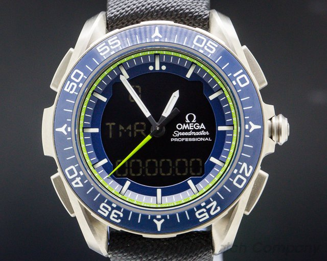 "Omega 318.92.45.79.03.001 Speedmaster X33 Skywalker ""Solar Impulse"" Limited Edition"