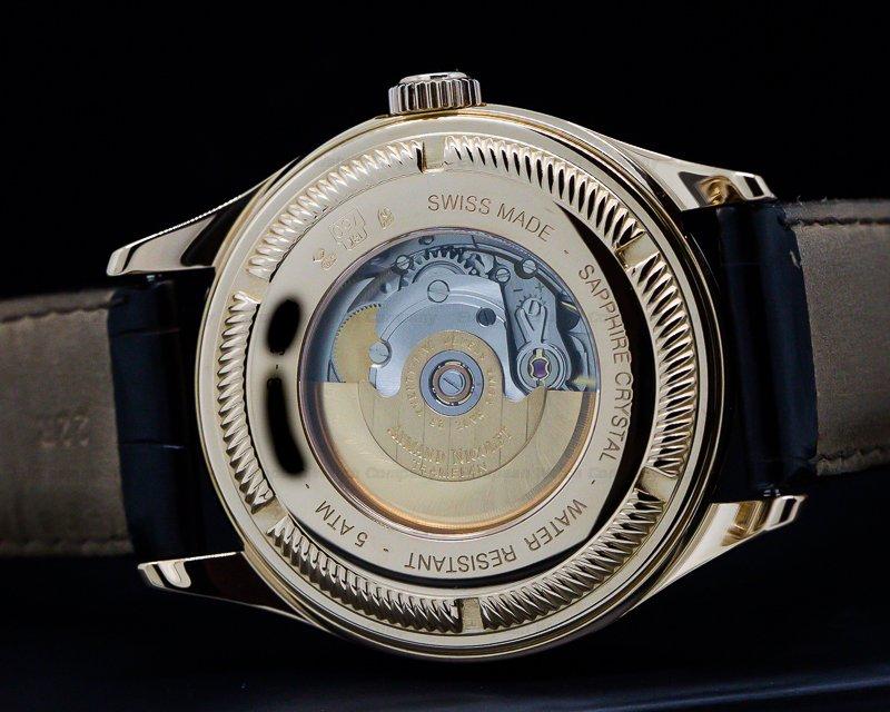 Armand Nicolet 7142B-1-NR-P914NR2 M02 Complete Calendar Rose Gold / Black Dial