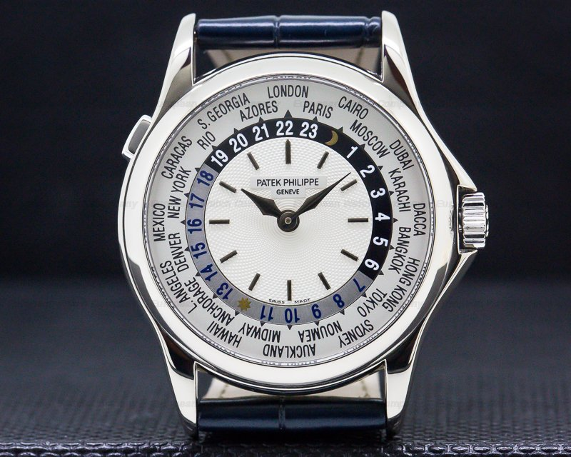 Patek Philippe 5110G World Time 18K White Gold