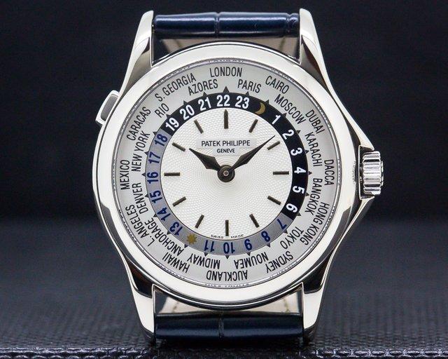 Patek Philippe 5110G World Time 18K White Gold