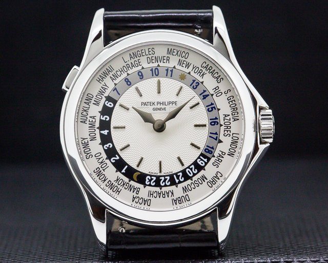 Patek Philippe 5110G-001 World Time 18K White Gold