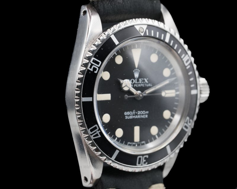 Rolex 5513 Vintage 5513 Matte Dial Submariner GREAT PATINA