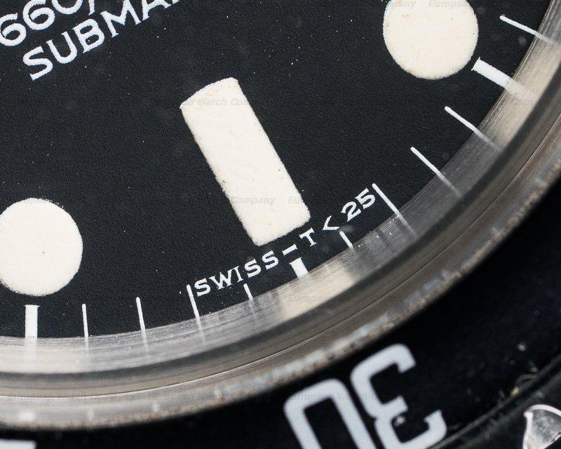 Rolex 5513 Vintage 5513 Matte Dial Submariner GREAT PATINA