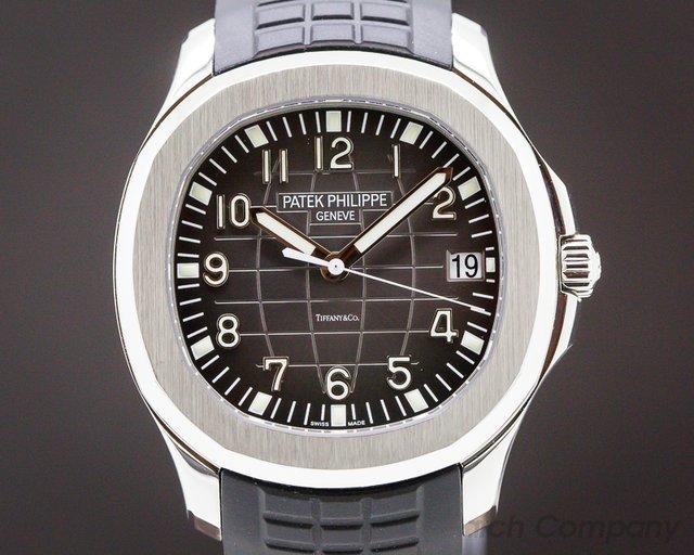 "Patek Philippe 5167A-001 Aquanaut SS ""TIFFANY & CO"""