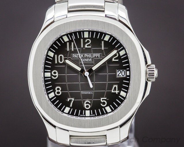 Patek Philippe 5167/1A-001 Aquanaut SS / SS Tiffany & Co. RARE