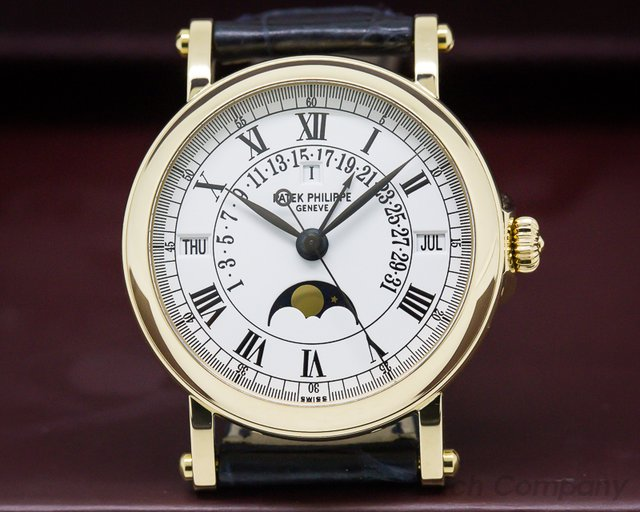 Patek Philippe 5059J Retrograde Perpetual Calendar 18K Yellow Gold