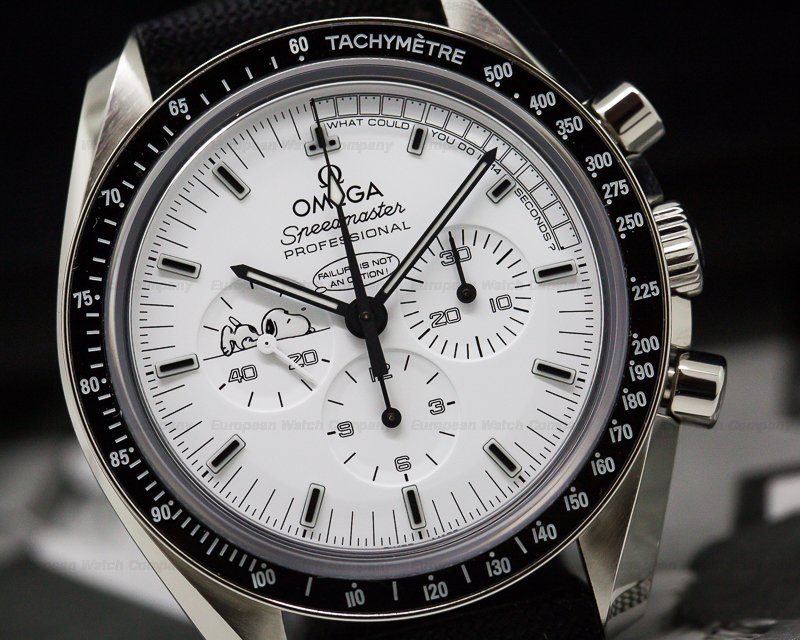 Omega 311.32.42.30.04.003 Speedmaster Professional Apollo XIII Silver Snoopy Award SS LIMITED