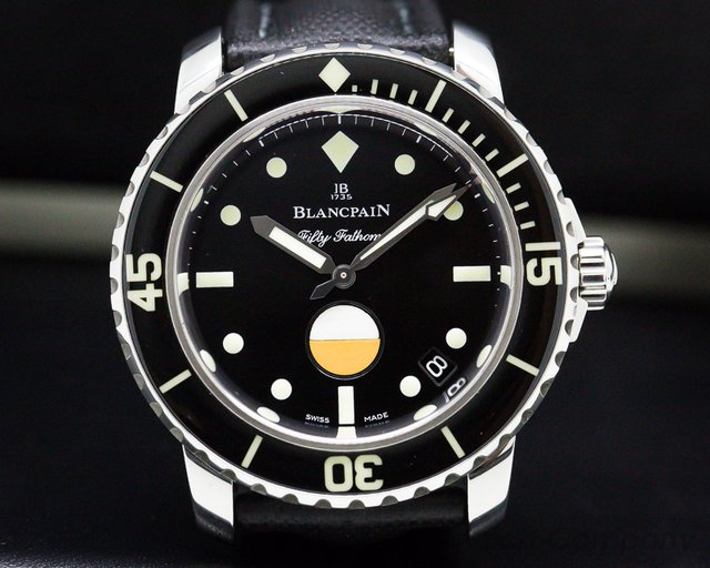 Blancpain 5008-1130-B52A Tribute to Fifty Fathoms MilSpec SS LIMITED
