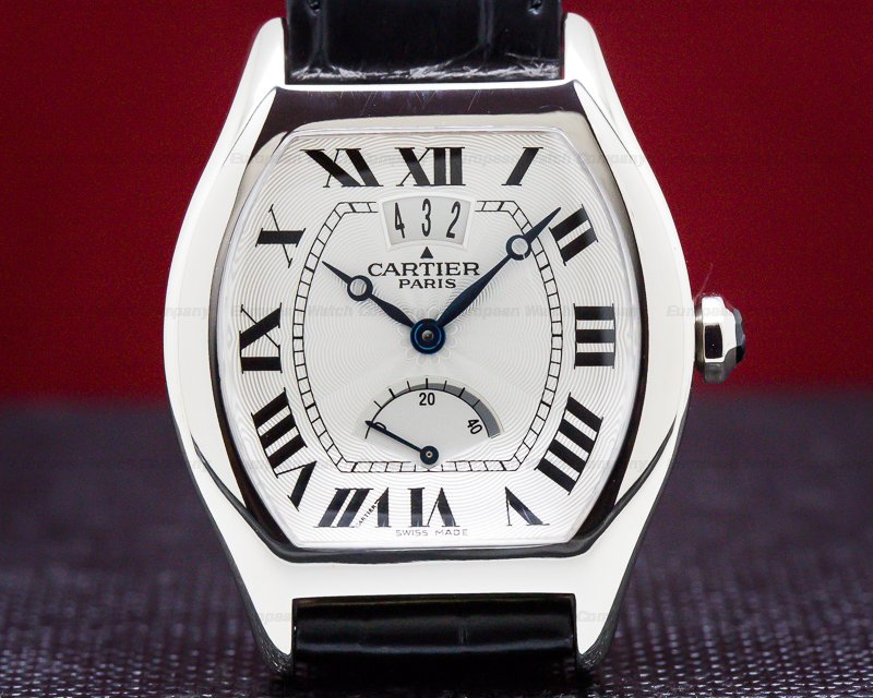 Cartier 2688 Collection Privee Tortue White Gold Limited