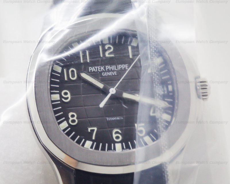"Patek Philippe 5167A-001 Aquanaut SS ""TIFFANY & CO"" SEALED RARE"