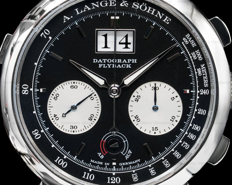 A. Lange and Sohne 405.035 Datograph Up / Down Platinum