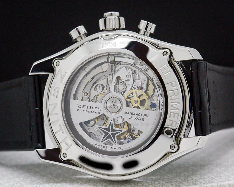 Zenith 03.2050.4026/91.c719 El Primero Split Second Chronograph Grande Date SS / Depolyant