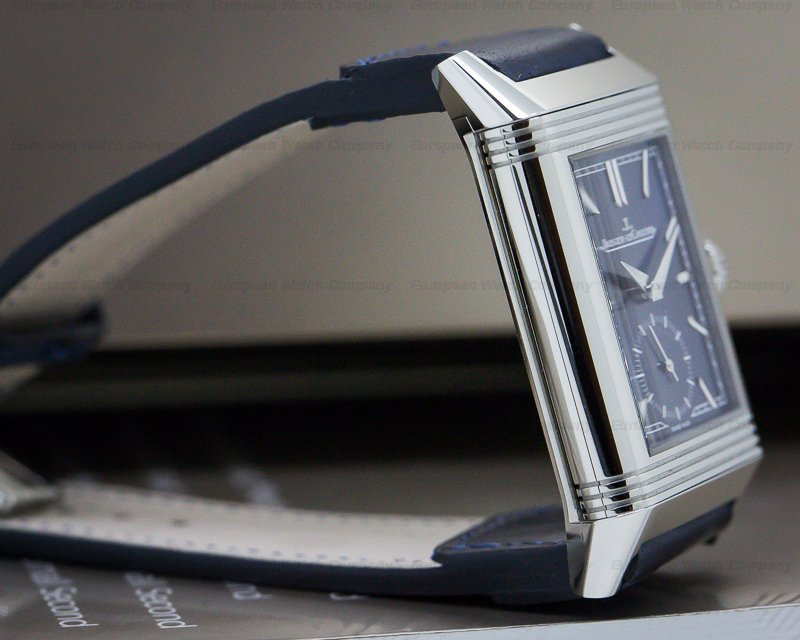 Jaeger LeCoultre Q3978480 Reverso Tribute Small Seconds SS Blue Dial