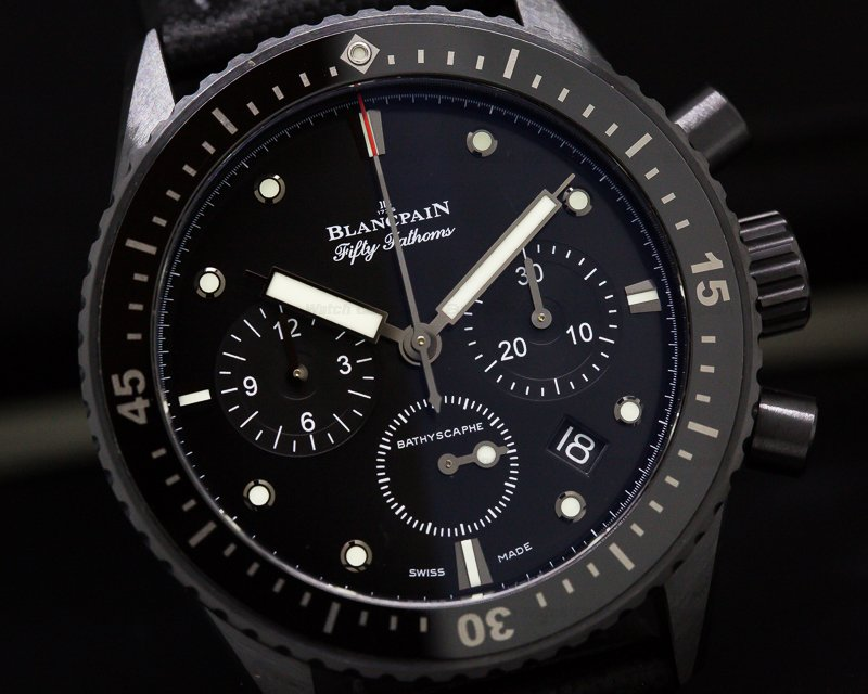 Blancpain 5200-0130-B52A Fifty Fathoms Bathyscaphe Flyback Chronograph Ceramic