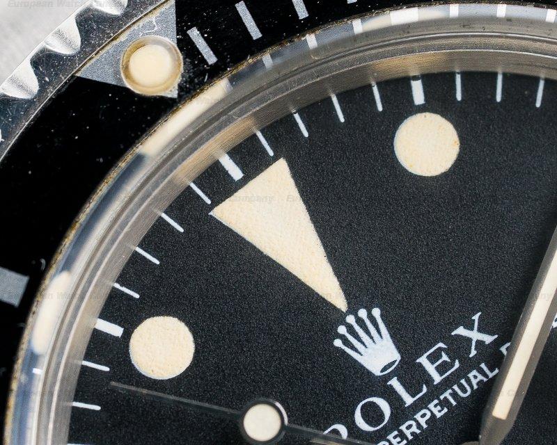 Rolex 1680 Submariner RED MK IV Circa 1970 SS