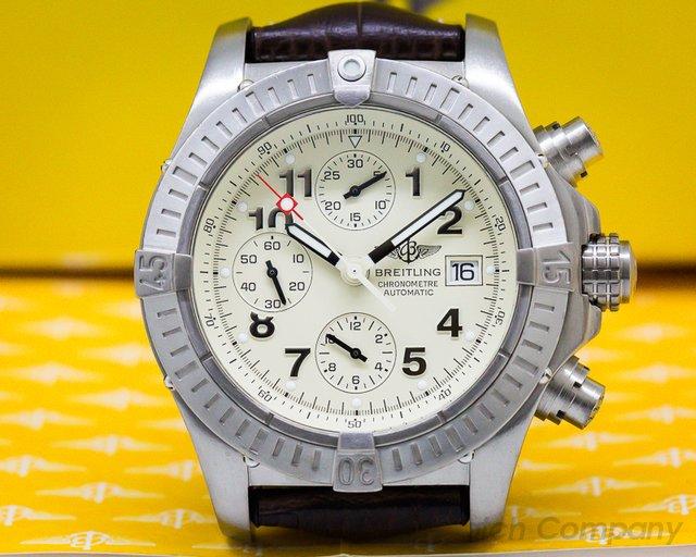 Breitling E13360 Aeromarine Chronograph Avenger Titanium