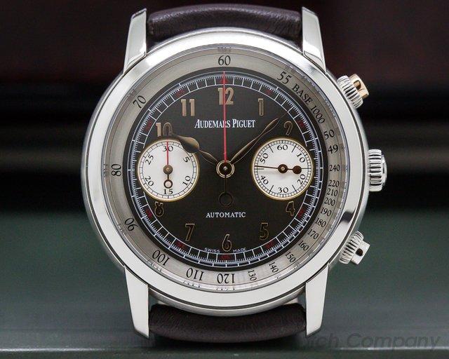 Audemars Piguet 26558TI.OO.D080VE.01 Jules Audemars Gstaad Classic Chronograph Titanium / Limited