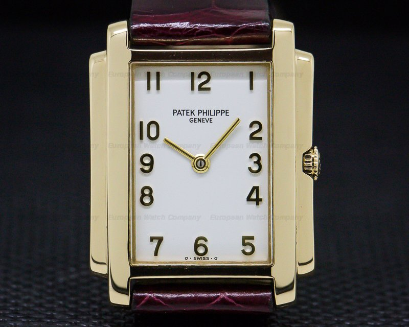 Patek Philippe 4824 Ladies Gondolo Arabic Numerals 18K Yellow Gold