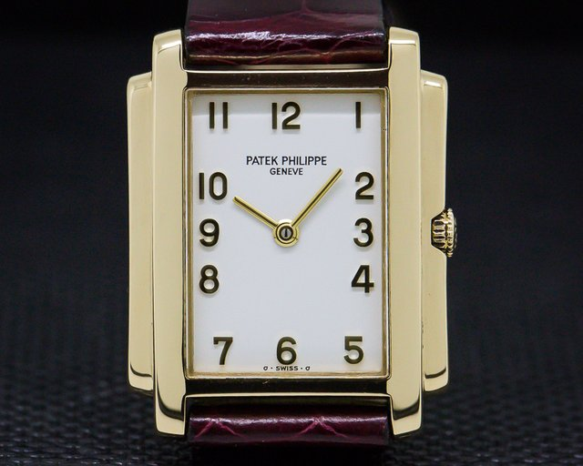 Patek Philippe 4824 Ladies Gondolo Arabic Numerals 18K Yellow Gold