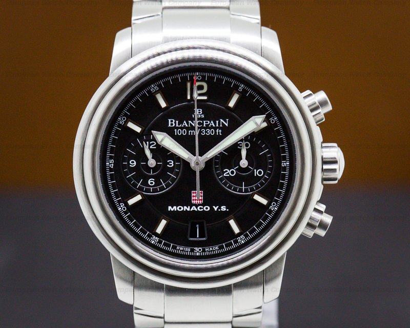 Blancpain 2185F-1130Y-71 Flyback SS Monaco Yacht Show LIMITED To 299 Pieces