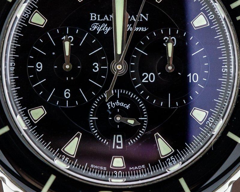 Blancpain 5085-1130-52 Fifty Fathoms Chronograph SS / Kevlar