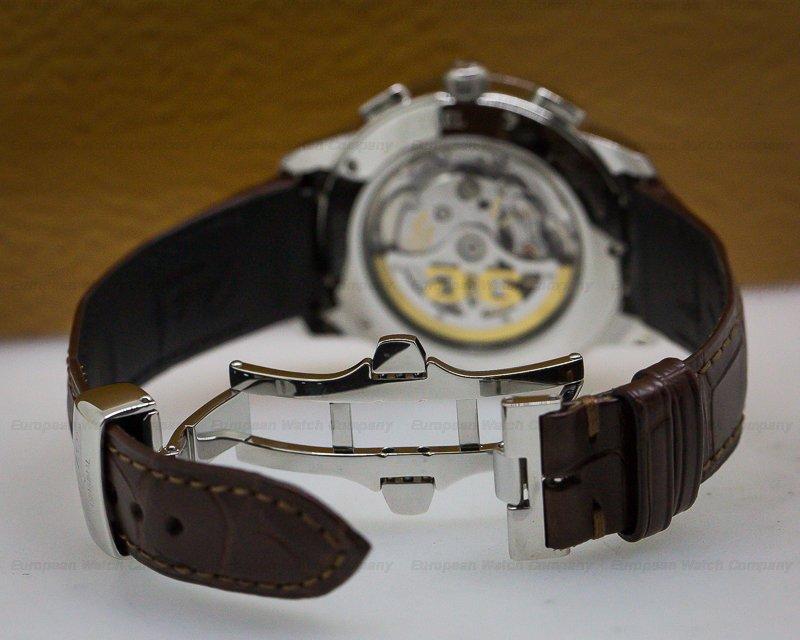 Glashutte Original 39-31-34-42-04 Senator Chronograph SS/SS Grey Dial 40MM