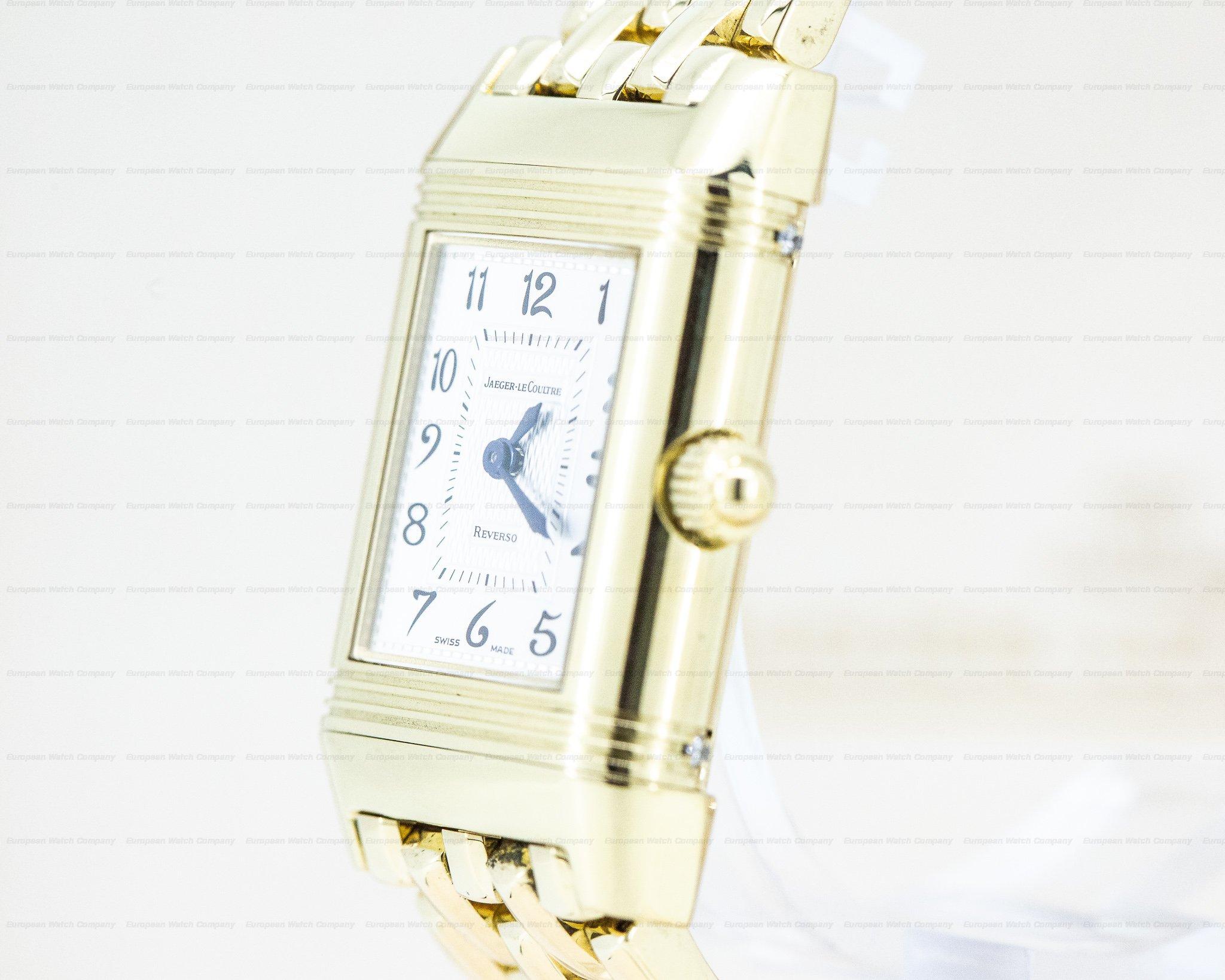 Jaeger LeCoultre Q2661110 Duetto Manual Wind 18K Yellow on bracelet / Diamond MOP