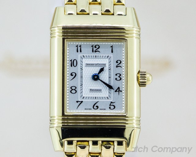 Jaeger LeCoultre Q2661110 Duetto Manual Wind 18K Yellow on bracelet / Diamond MOP