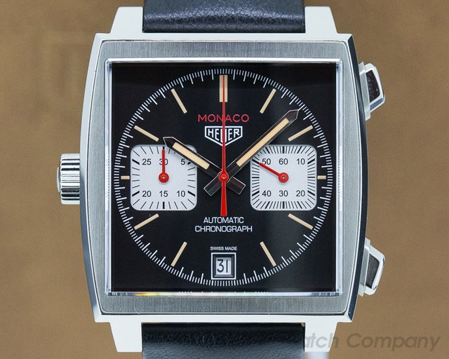 """TAG Heuer CAW211S.FC6375 Monaco Chronograph Caliber 11 """"France Edition"""" Limited to 200 Pieces"""