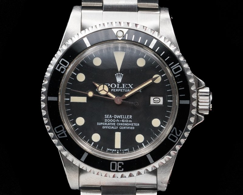 Rolex 1665 Vintage Sea Dweller Original Owner FULL SET