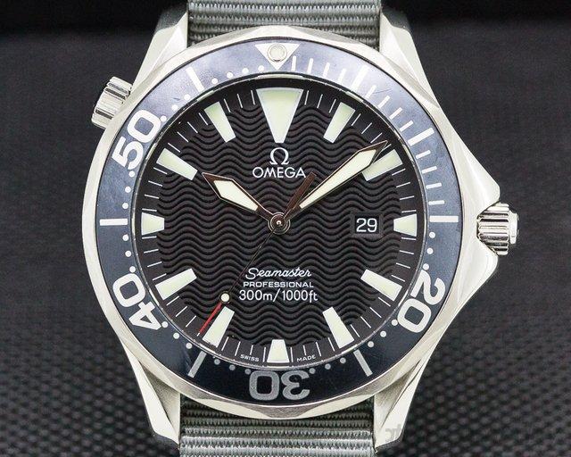 Omega 2064.50.00 Seamaster Professional Black Dial SS Quartz