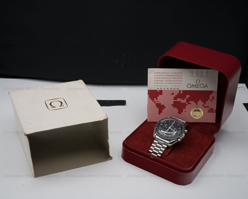 "Omega 345.0809 Speedmaster Professional ""Speedymoon"" Moonphase BOX AND PAPERS"