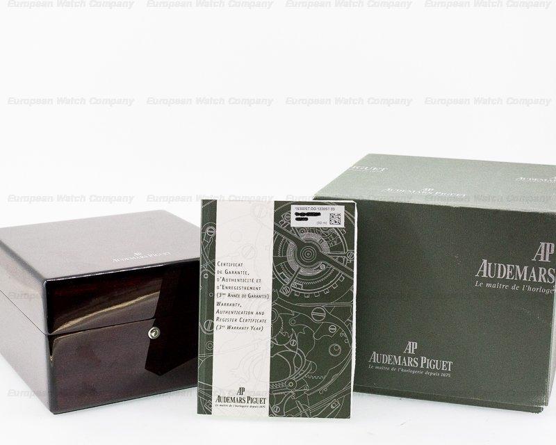 Audemars Piguet 15300ST.OO.1220ST.03 Royal Oak Black Dial SS 39MM