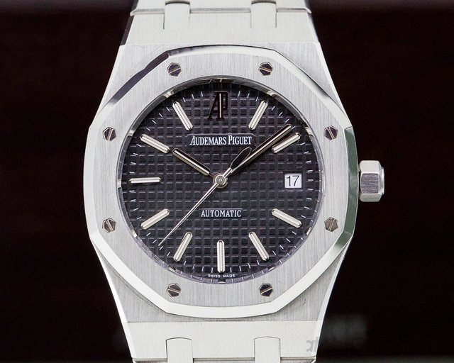 Audemars Piguet 15300ST.OO.1220ST.03 Royal Oak Black Dial SS 39MM