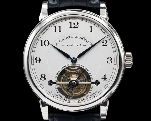 A. Lange and Sohne 730.025F 1815 Tourbillon Platinum LIMITED