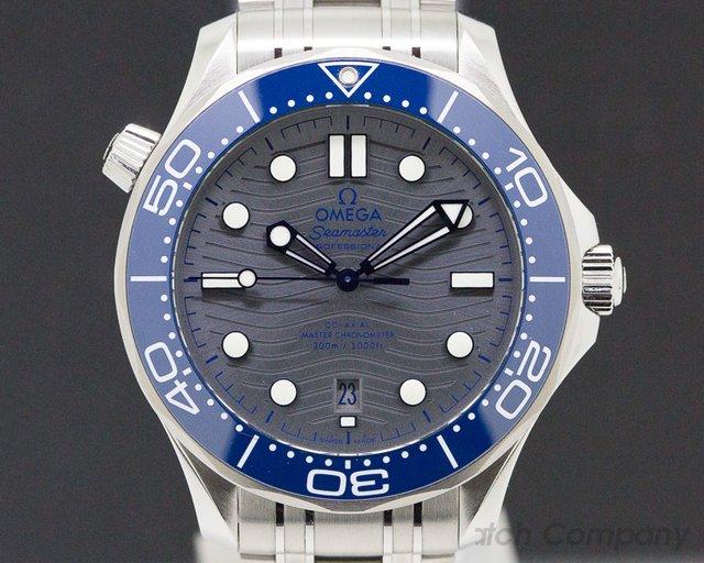 Omega 210.30.42.20.06.001 Seamaster Diver 300M SSS Grey Dial