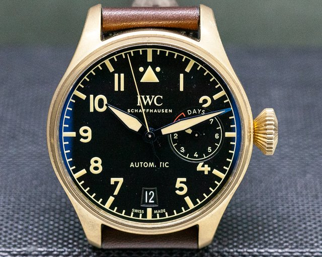 IWC IW501005 Big Pilot BRONZE Black Dial