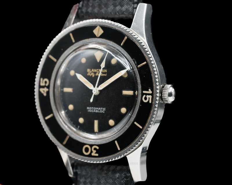 Blancpain Rotomatic Incabloc Vintage Gilt Fifty Fathoms Rotomatic Incabloc GLOSSY EXCELLENT