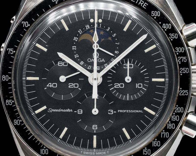 "Omega 345.0809 Speedmaster Professional ""Speedymoon"" Moonphase / Date"