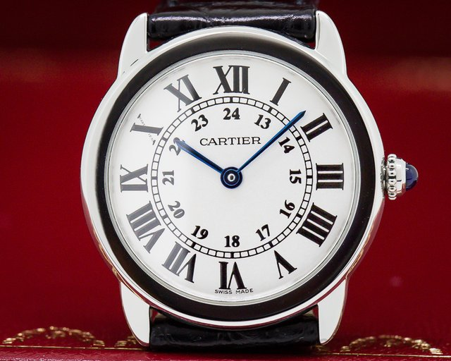 Cartier W6700155 Ronde Solo Quartz SS 29MM