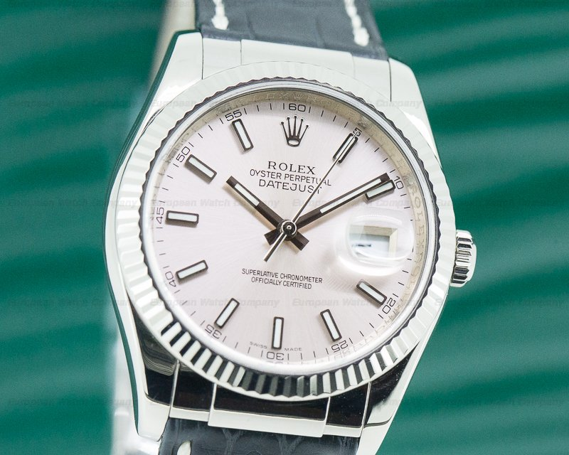 Rolex 116139 Datejust WG Pink Dial