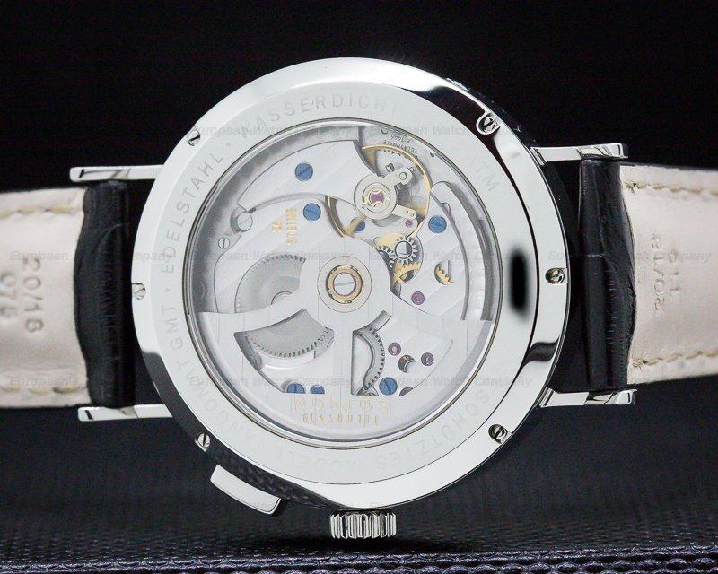 Nomos NO635 Tangomat GMT World Time SS White Dial