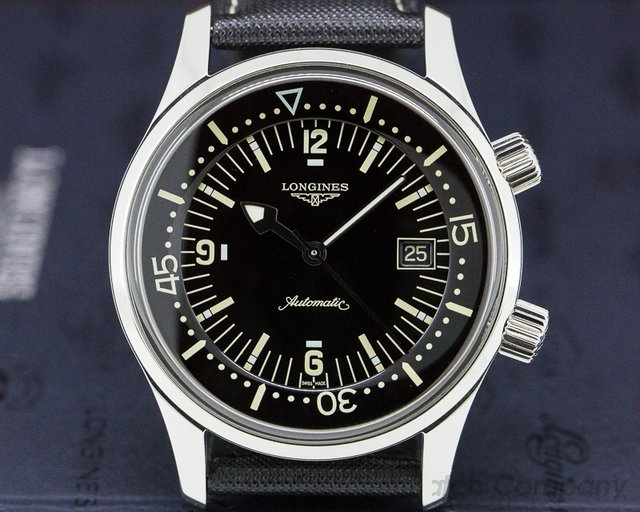 Longines L3.674.4.50.0 Legend Heritage Legend Diver Stainless