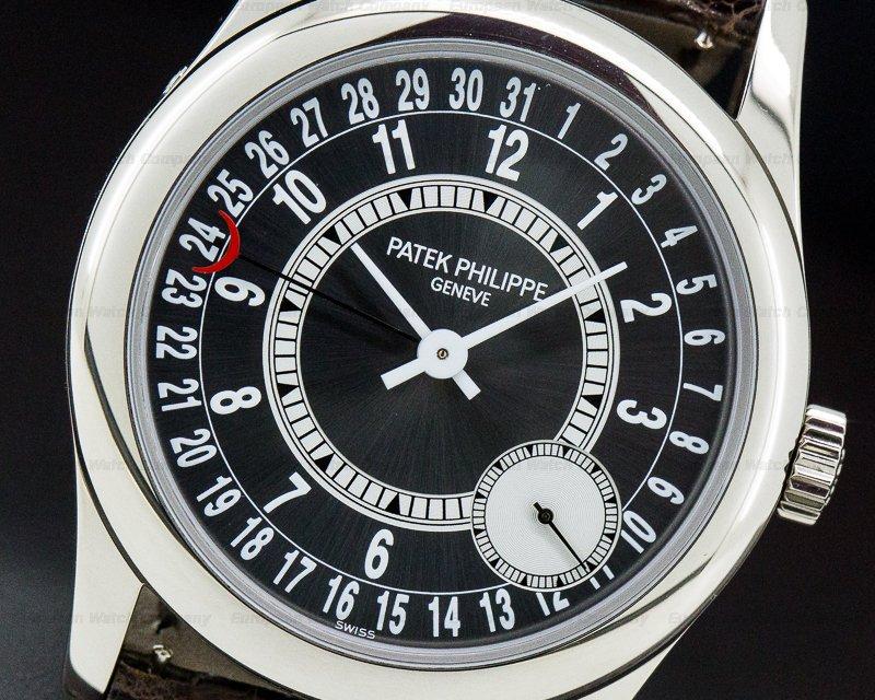 Patek Philippe 6000G-010 Calatrava Automatic Grey Dial