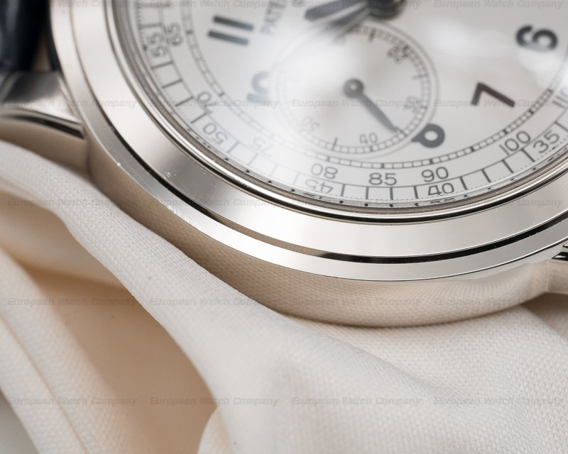 Patek Philippe 5070G 5070 White Gold Chronograph UNPOLISHED