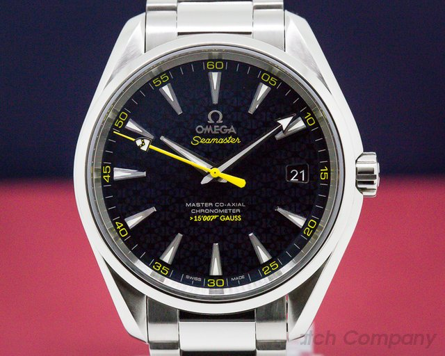 Omega 23110422103004 Aqua Terra James Bond Co-Axial 150M Blue Dial SS / SS